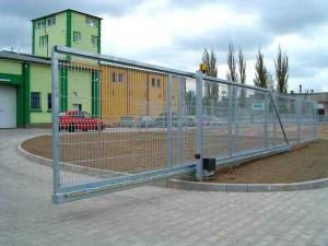 Brány Egidia SC sa vyrábajú do dĺžky 12 m.