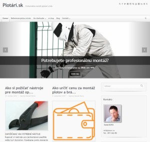 Plotari.sk úvodná obrazovka