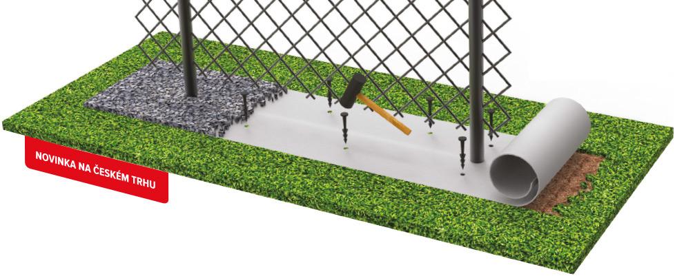 Pod-plot fólia proti burine