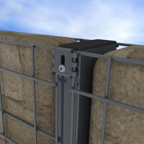 Zenturo stĺpik pre stavbu gabiónovej steny
