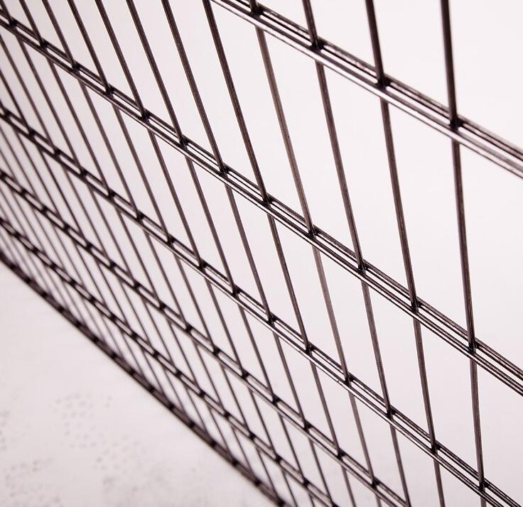 Panel 2D s rovnými drôtmi.